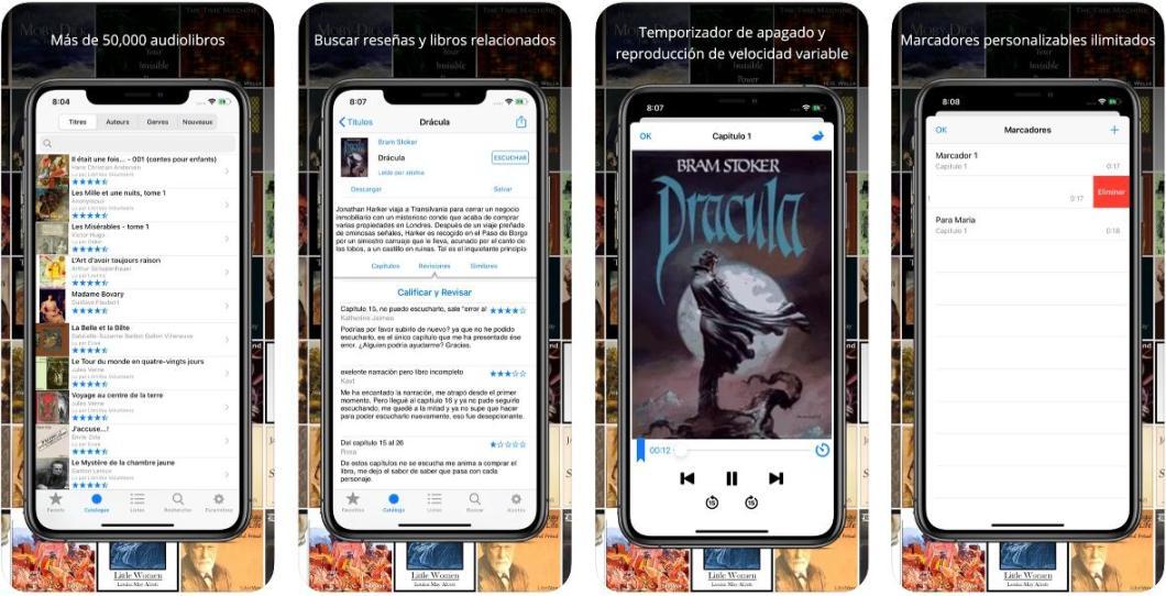 App de audiolibros