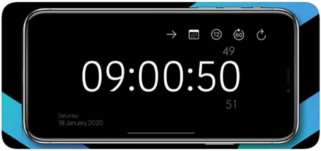 Convierte tu iPhone en un reloj de sobremesa