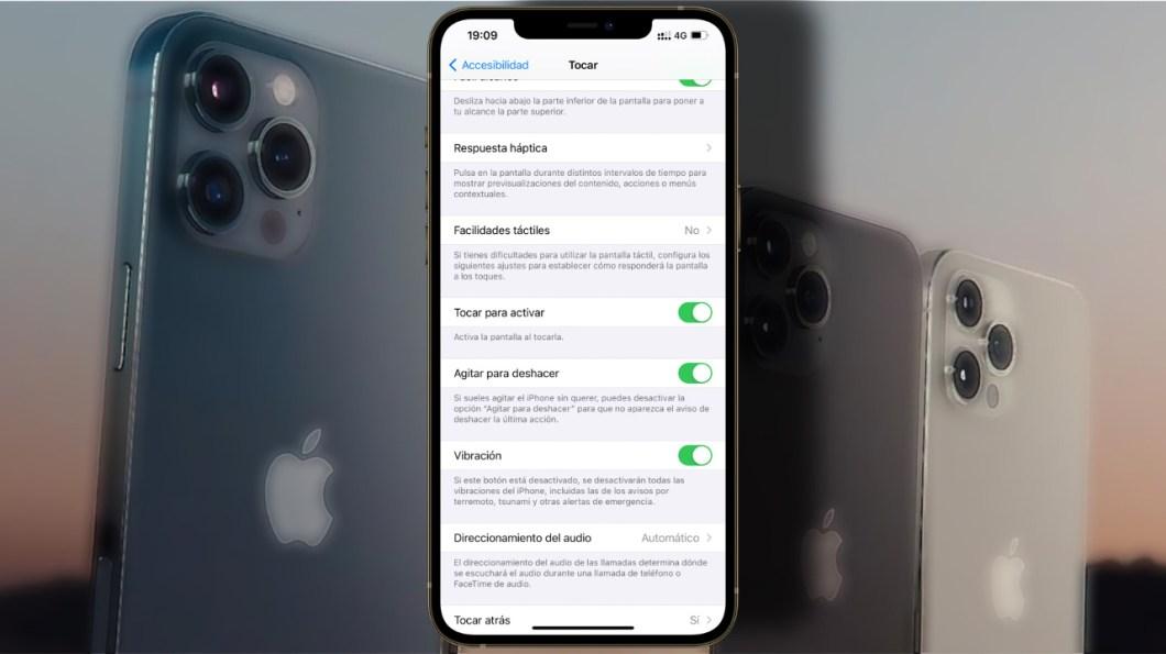 pantalla del iPhone se active