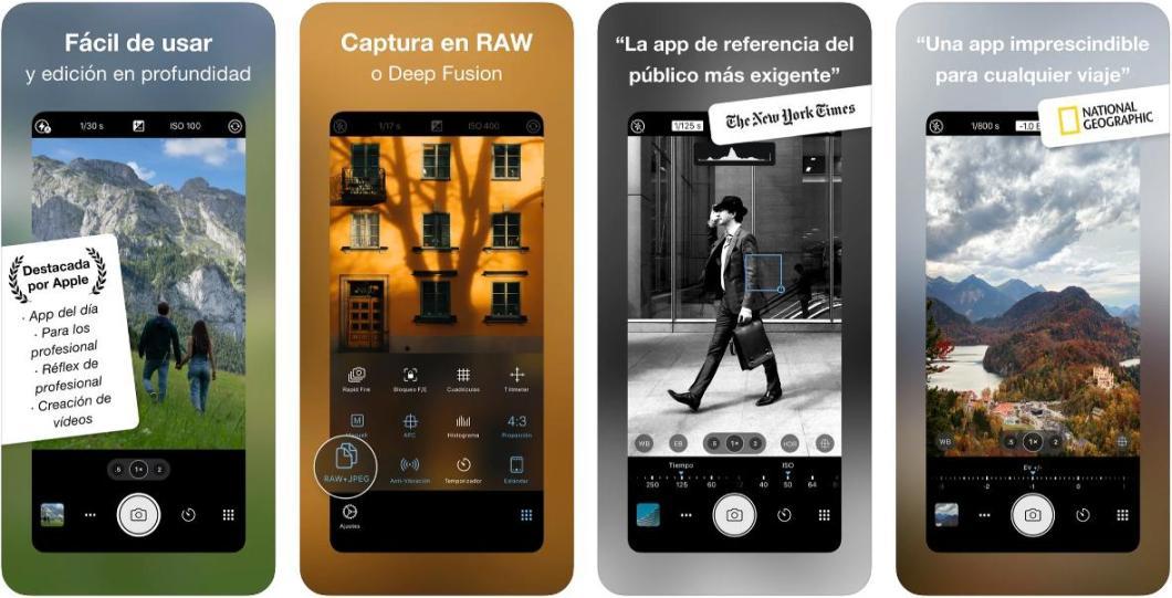 Posiblemente, la mejor app para hacer fotos con iPhone