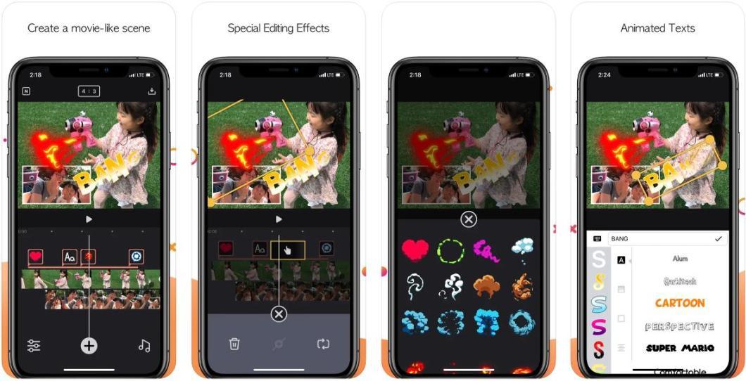 Editor de vídeo para iOS