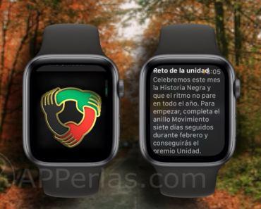 Cómo conseguir la medalla del Reto de la unidad en el Apple Watch