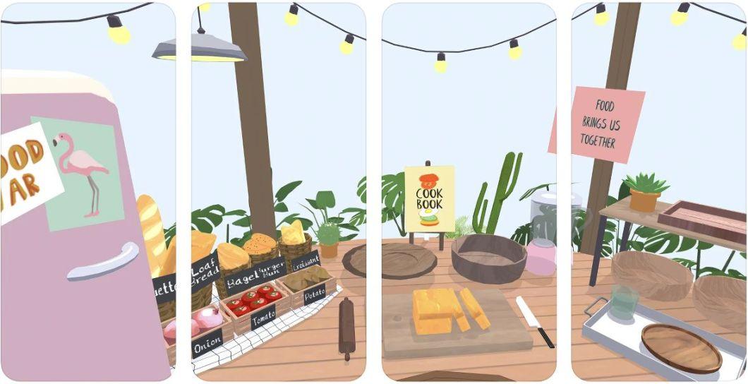 Interfaz del juego Chef Umami