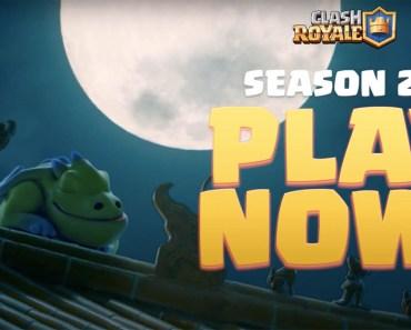 Celebra el Año Nuevo Lunar en la temporada 20 de Clash Royale