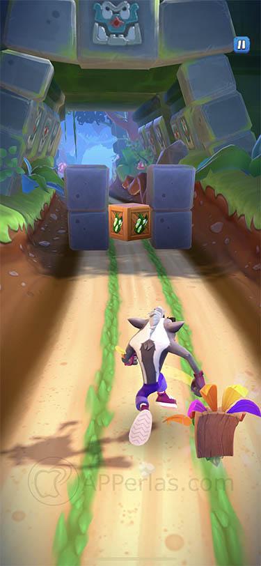 Crash Bandicoot On the Run juego iphone ipad 3