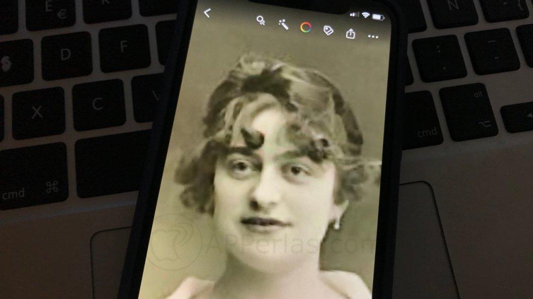 Animar una foto antigua desde el iPhone