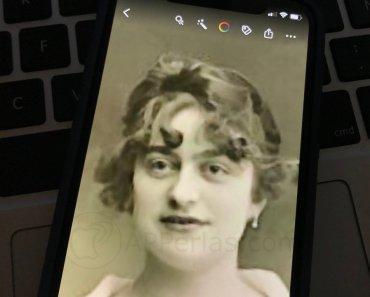 Cómo animar una foto antigua desde iPhone con Deep Nostalgia