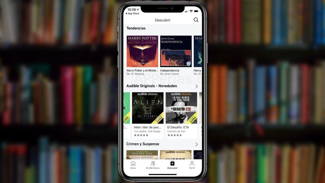 Cómo cancelar la suscripción de Audible desde el iPhone