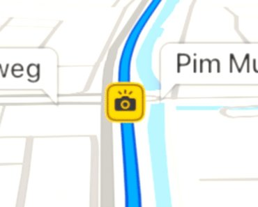 Apple Maps comienza a mostrar información de radares fijos