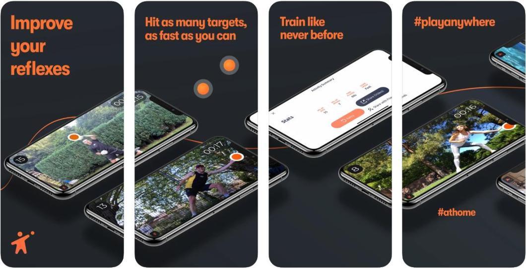 Mejora tus reflejos con esta app en AR