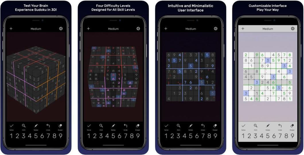 Sudokus para iPhone y iPad