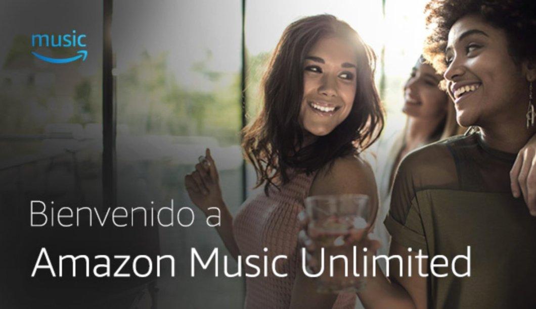 Bienvenida al suscribirte a Amazon Music