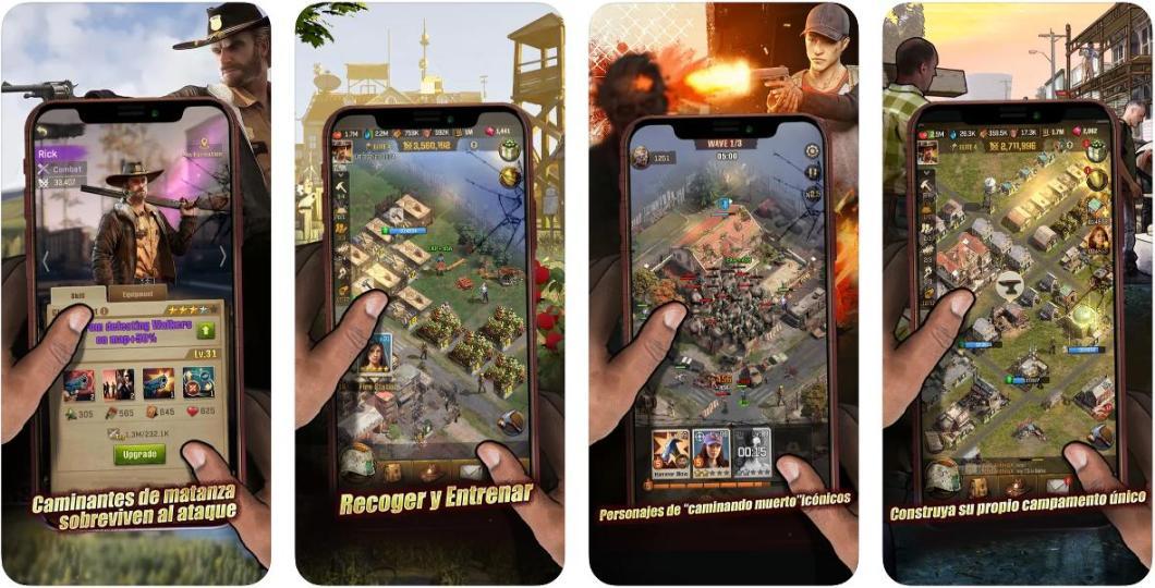 Juega a The Walking Dead en iPhone