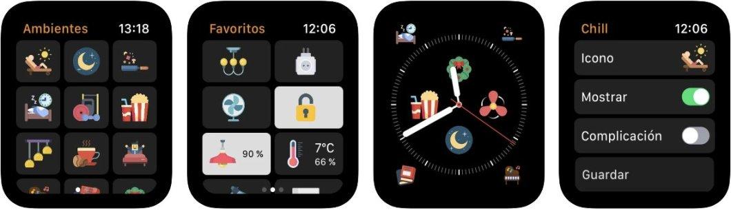 Controla Homekit desde el Apple Watch