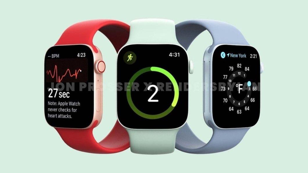 Prototipo de Apple Watch Series 7