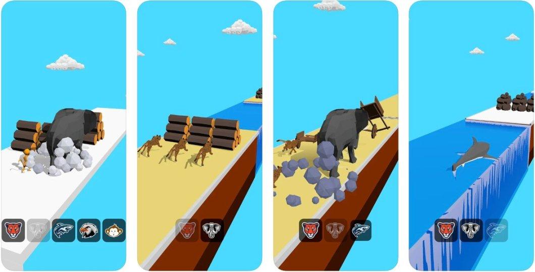 Animal Transform: Epic Race 3D