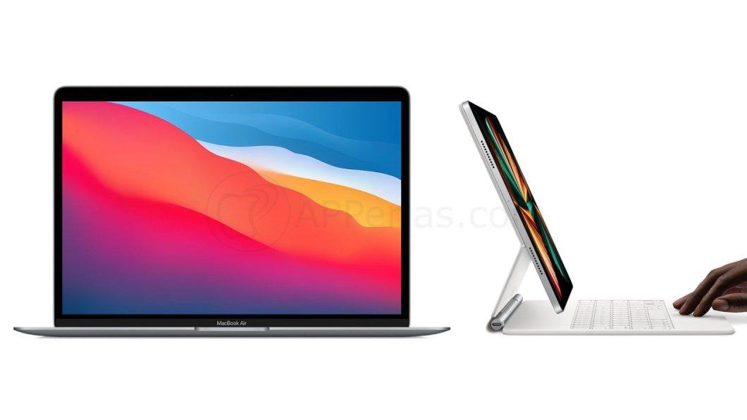 MacBook y iPad