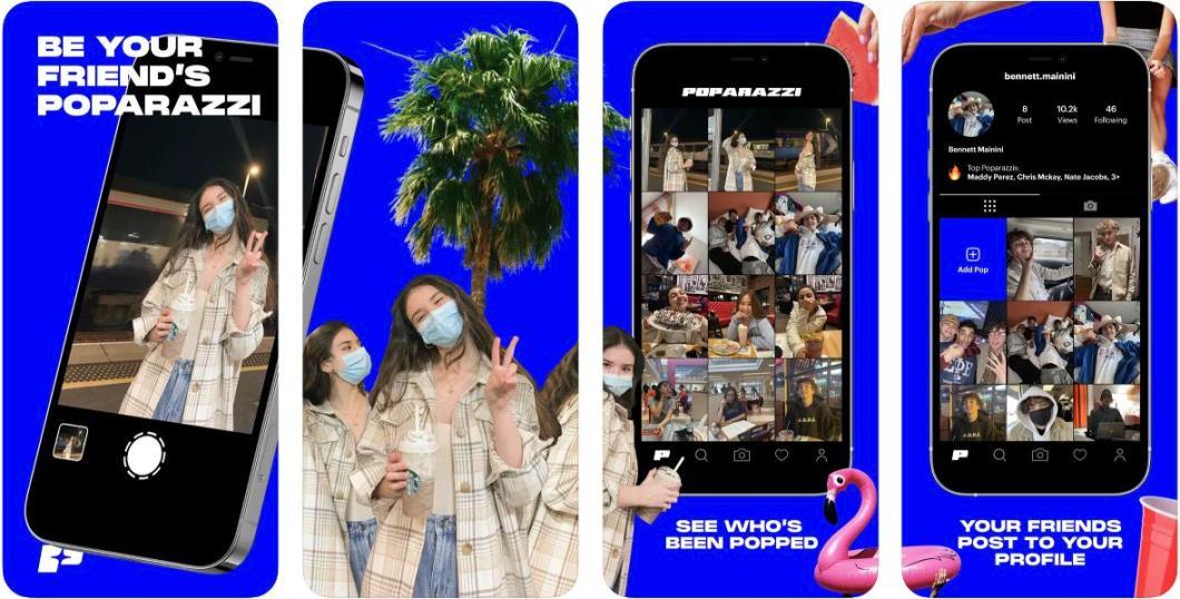 App Poparazzi para iPhone