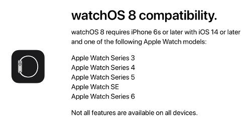 WatchOS 8 2