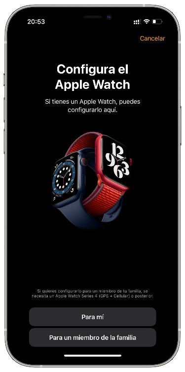 Apple Watch sin tener un iPhone 1