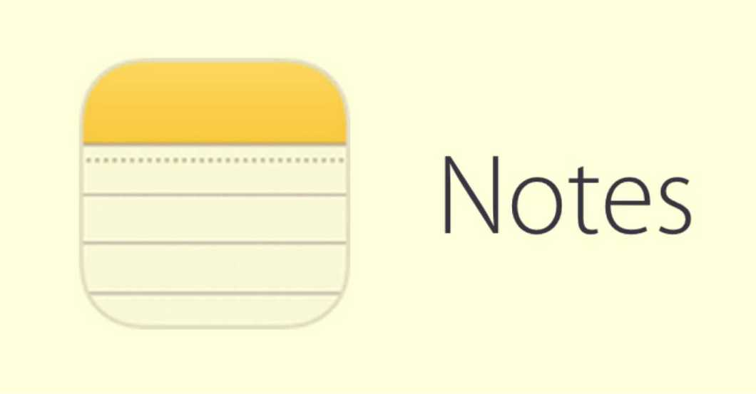 Notes in iOS 15