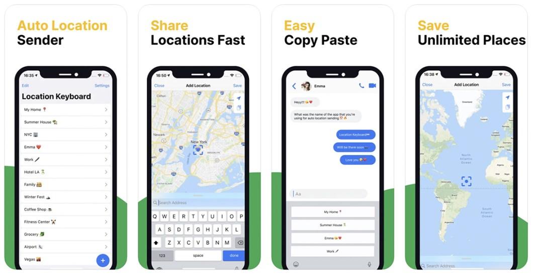 apps nuevas auto location keyborad