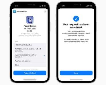 Solicitar el reembolso de una compra in-app será posible en iOS 15