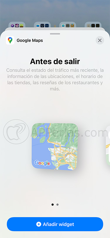 widgets google maps 1