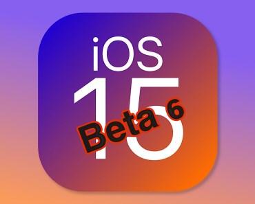 Apple libera  una nueva beta de iOS 15… Y van 6. Ya queda poco