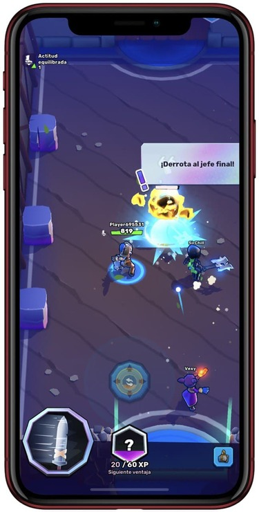 Captura de Knight's Edge