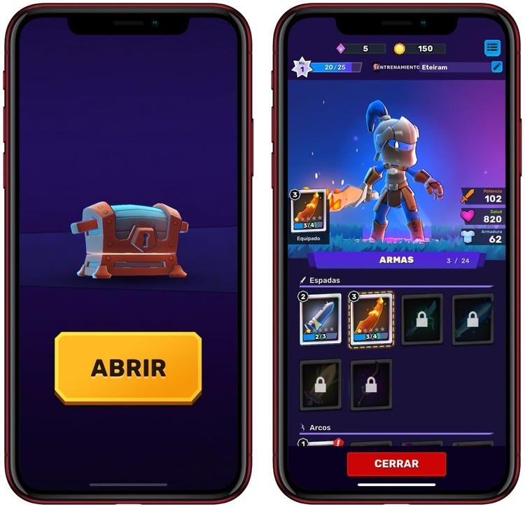 Cofres y más en este juego multijugador para iOS