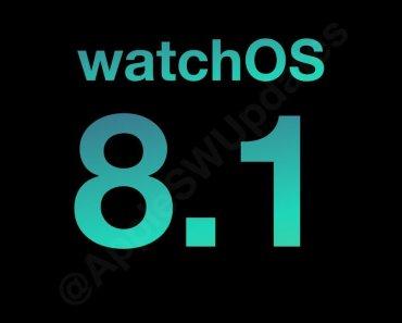 Novedades de WatchOS 8.1, disponible para descargar en el Apple Watch