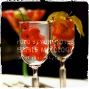 edible mixology [tall shots]... food styling notes by ockstyle