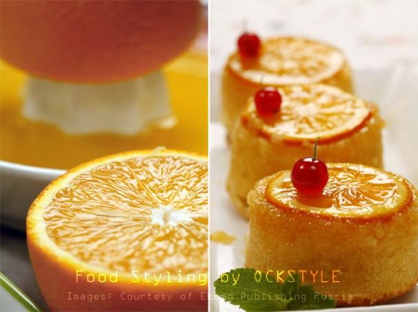 orange mini tarts... food styling notes by ockstyle