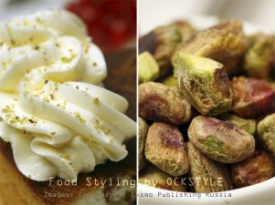 cream & pistachios... food styling notes by ockstyle