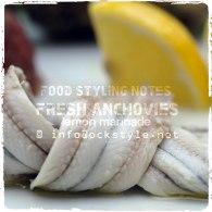 Marinated anchovies from Vasto, Abruzzo... photo: ockstyle