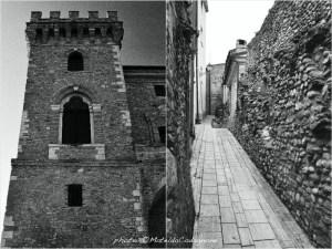 Il Castello Ducale De Riseis - D'Aragona di Crecchio (Chieti) - Mura medievali di Rocca San Giovanni (Chieti) | photo: ©MateldaCodagnone
