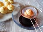 Alchermes bath... :: Cream Peach Cookies | Recipe and Photo ©SaraScutti
