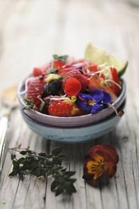 Rainbow Fruit Salad :: Recipe and Styling: Orsola Ciriello Kogan | Photo ©LuciaZeccara