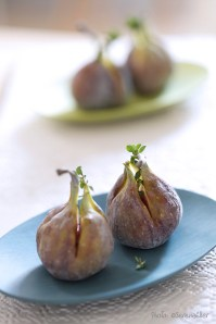 Figs n thyme :: Recipe and Styling: Orsola Ciriello Kogan | Photo ©SerenaEller