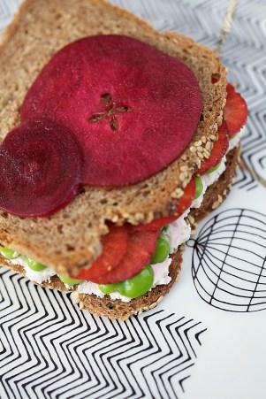 Springtime Sandwich :: Sale e Pepe Magazine | Recipe and Food Styling: Orsola Ciriello Kogan | Styling: Cristina Gigli | Photo: ©SerenaEller