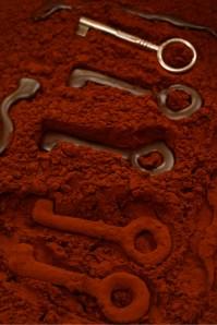 Chocolate keys :: Food Styling: Orsola Ciriello Kogan | Photo ©AlexeyTryaskov