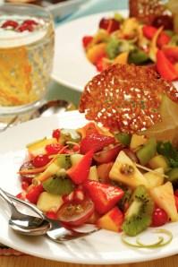 Fruit salad :: Food Styling: Orsola Ciriello Kogan | Photo ©AlexeyTryaskov