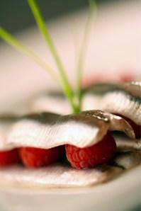 Fresh Anchovies marinated in Raspberry Vinegar :: Recipe and Styling: Orsola Ciriello Kogan | Photo ©LuciaZeccara
