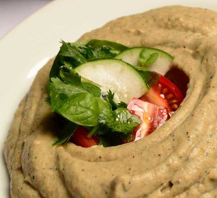 Babaganoush - El Manto Restaurante - Working Chef