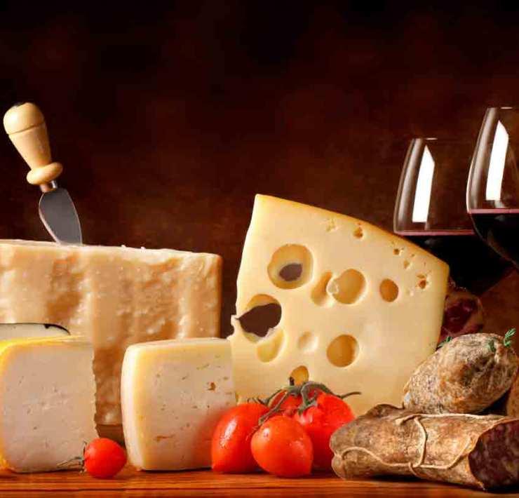 Cada vino con su queso