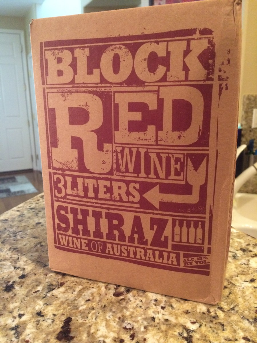 Box of Wine A Review of Trader Joes Block Shiraz Wine