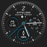 New customizations: Unread notifications, Ambient mode & more - Ksana Sweep Watch Face
