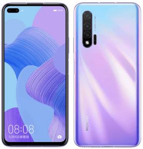 محتويات كرتونة موبايل Huawei Nova 6