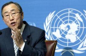 Banki Moon Verenigde Naties